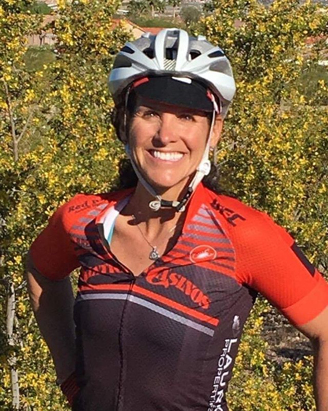 It's a beautiful morning on #teammatetuesday. Take a minute to read about Jill! What is your nickname?  Jilly Bean or Jilly Pooh What is your favorite food for on the bike?  Snickers What kind of bike do you ride?  #Ridley #Damocles  Who is your favorite pro cyclist?  Mark Cavendish  What is your favorite Station Casino?  @redrockcasino  Tell us about your favorite ride/race/gran fondo.  #Steamboat Century two years in a row~ three Gorgeous mountain passes including Rabbit Ears (9% grade). What is the farthest you've ridden?  120 miles in a Tour De Summerlin event starting from basically my house.  If you were a #bike part, what would you be? My #mtnbike Fox Shock~ able to absorb the bumps in life and be Smoooooth! Can you name at least four of our sponsors?  Red Rock/Station Casinos, UFC, Red Rock Animal Hospital, and ProCyclery  On the bike, I am pretty good at.....? Riding #rollers  On the bike, I am terrible at....? #Climbing any distance past a mile! My bucket list ride would be ....? Barge/#biking trip in France on the Seine