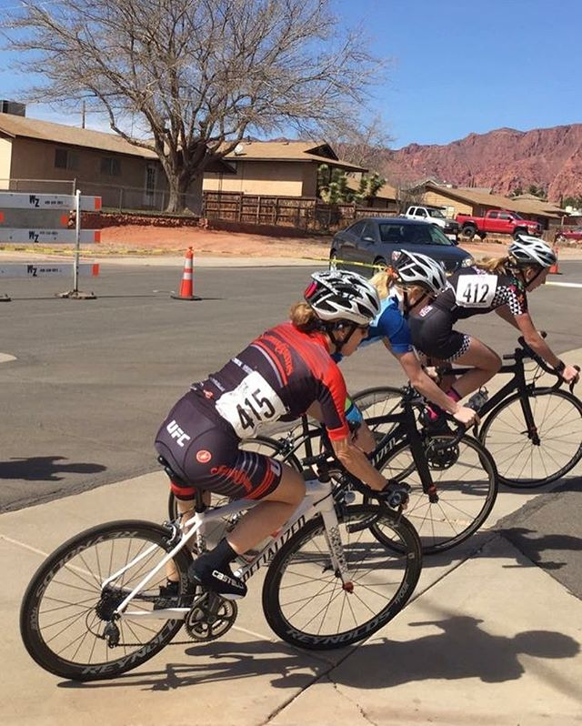 Yesterday was #raceday at the #desertcitycritseries. We are so proud of our teammates for heading out to #utah to pin on some numbers. You people rock! #crit #race #cycling @mommabeach123 @yourstruly_rp @markcweimer
