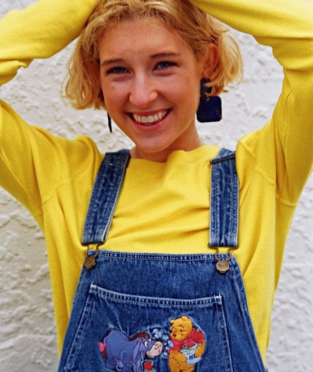 Over-all your looks? Make like Eugie in some of our cutest denim dungarees 💛 mix with bright long sleeves like this Ralph Lauren number to cover up on days like today 💦❄️