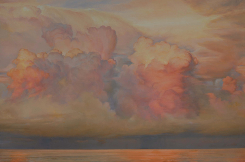 "Florida Sky 22  oil on board, 48"" x 72"" 2012"