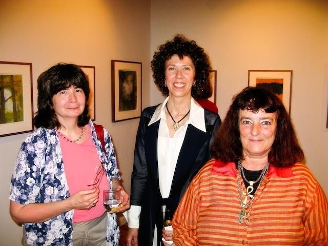 Pattie Lipman, Hollis Jeffcoat and Deborah Masters