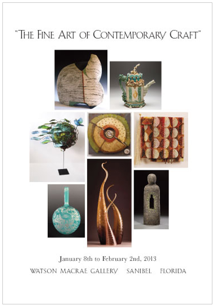 THE FINE ART CONTEMPORARY CRAFTS, January 2013