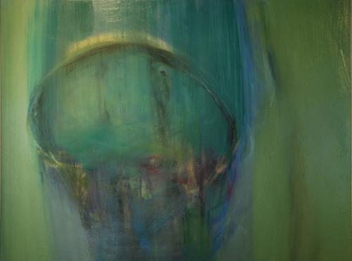 """Eaux Salées VIII  (sold) oil on canvas, 36"""" x 48"""" 2012"""