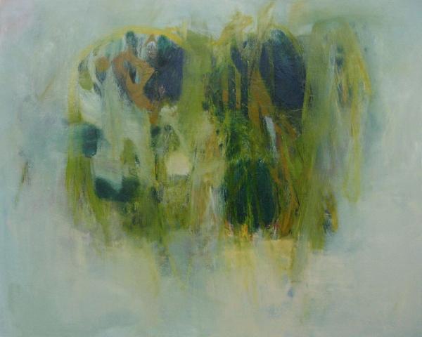 "Lake Coquina II  (sold) oil on canvas, 48"" x 60"" 2014"