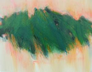"""Mangrove VII  oil on wood panel, 11"""" x 14"""" 2015"""