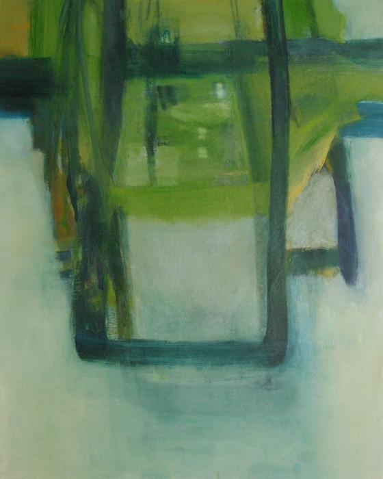 """Lake Coquina I  oil on canvas, 60"""" x 48"""" 2014"""