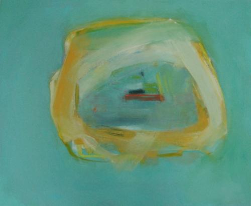 "Sail On III  oil on canvas, 30"" x 36"" 2014"