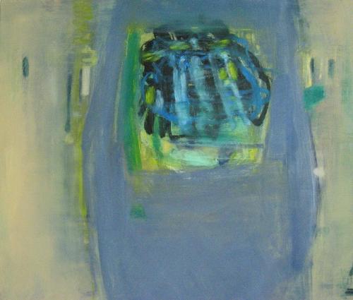 """Eaux Salées VII  oil on canvas 30"""" x 36"""" 2012"""