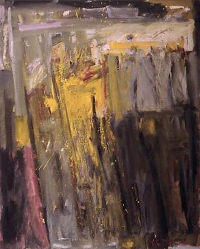 """La Chasse II  oil on linen, 39-1/2"""" x 32"""" 1985"""