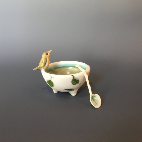 porcelain vessel, sold