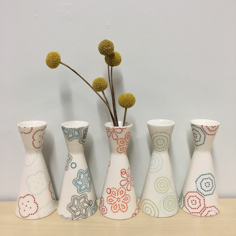 porcelain with decals