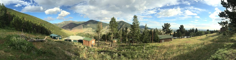 A view of Yellowstone Bighorn Research Association (YBRA), our home away from home while digging. Image credit: B. Malinowski