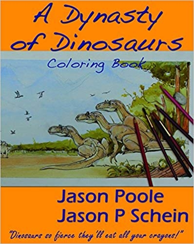 A Dynasty of Dinosaurs\' Coloring Book — Bighorn Basin ...