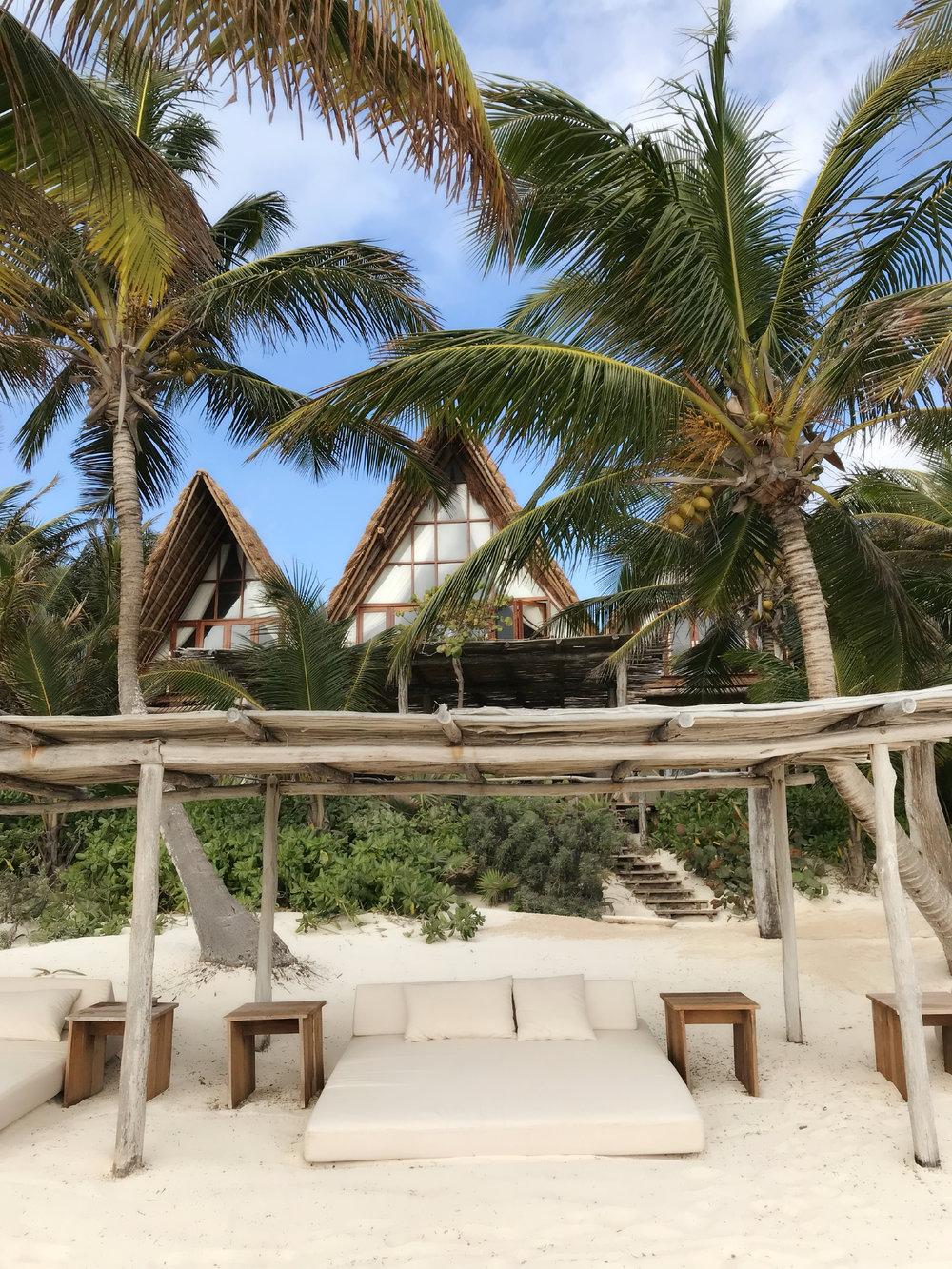 la valise playa beach club viaje tulum