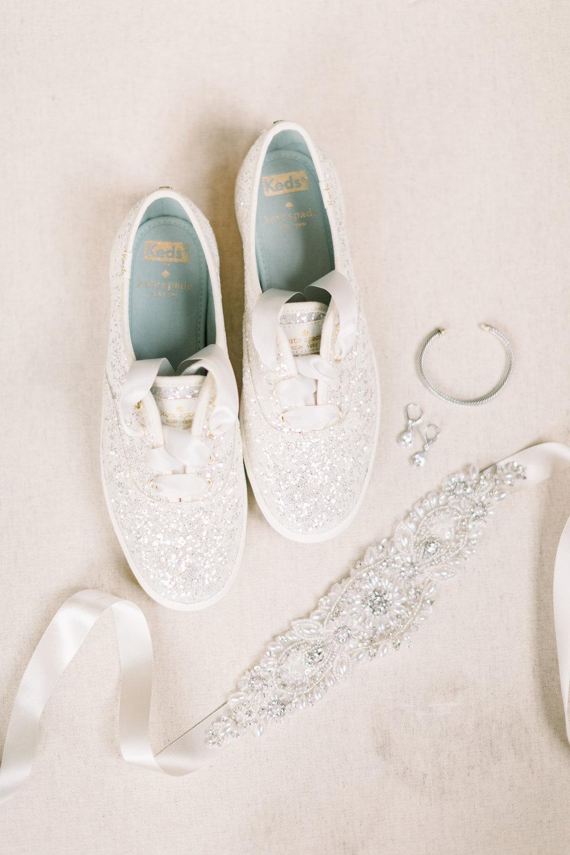 sparkly wedding shoes keds