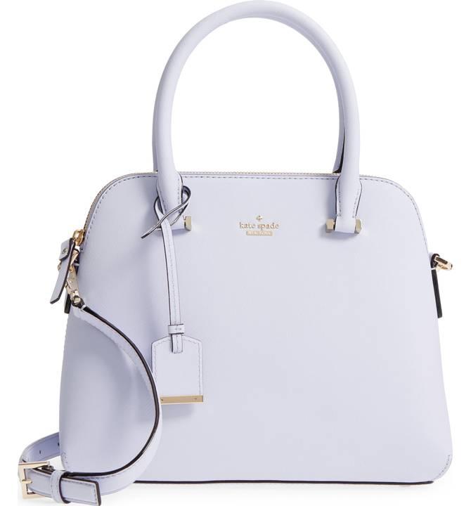 kate spade new york cameron street maise leather satchel - $298 -