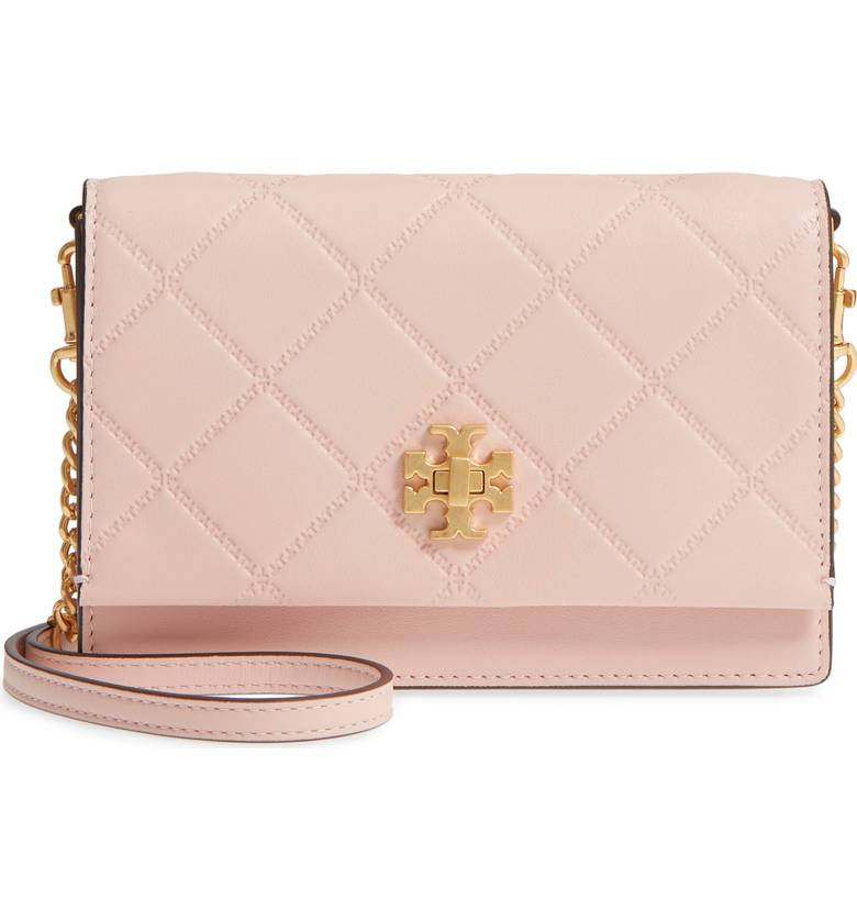 Tory Burch Mini Georgia Quilted Leather Shoulder Bag - $298 -