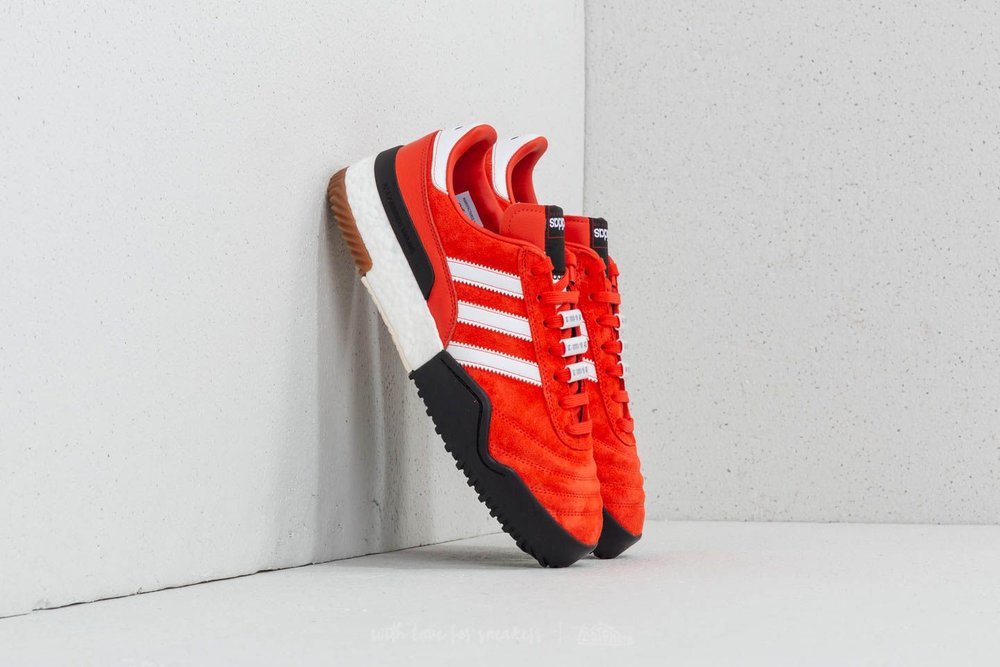 Adidas Originals by Alexander Wang Bball Soccer - You can get Wang's latest collaboration at Kith for $250.