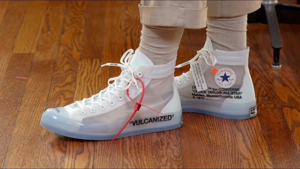 Converse Chuck Taylor All-Star Hi Off-White - Cop these Virgil Abloh-designed sneakers on StockX for $1149.