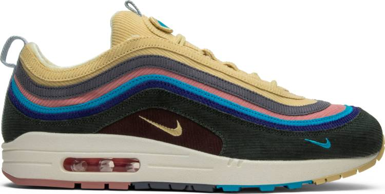 Nike Sean Wotherspoon X Air Max 1/97 - Score the most coveted sneakers of late on GOATfor $540.