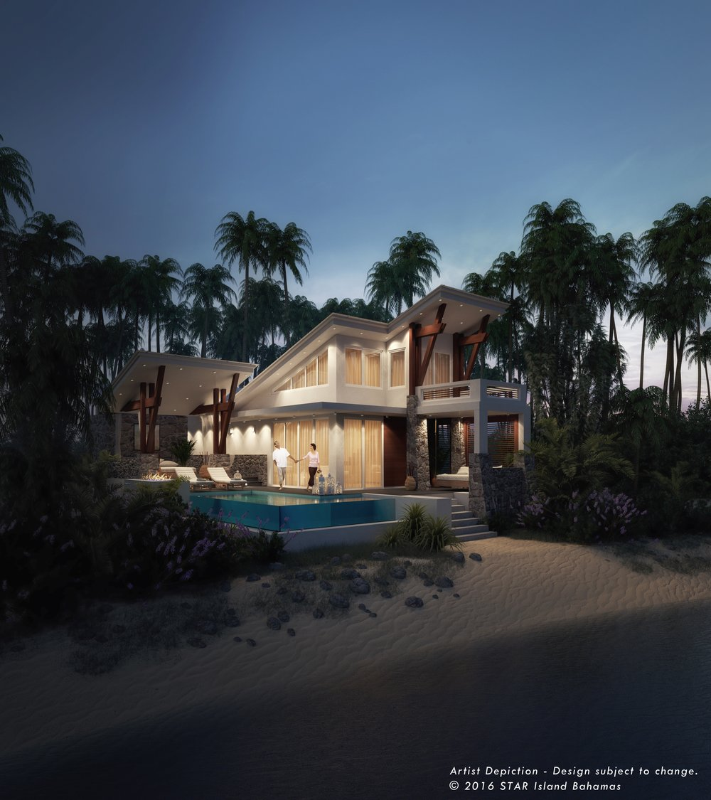Cabana - STAR Island Bahamas