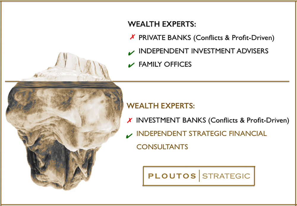 Wealth Experts for the Wealth Iceberg