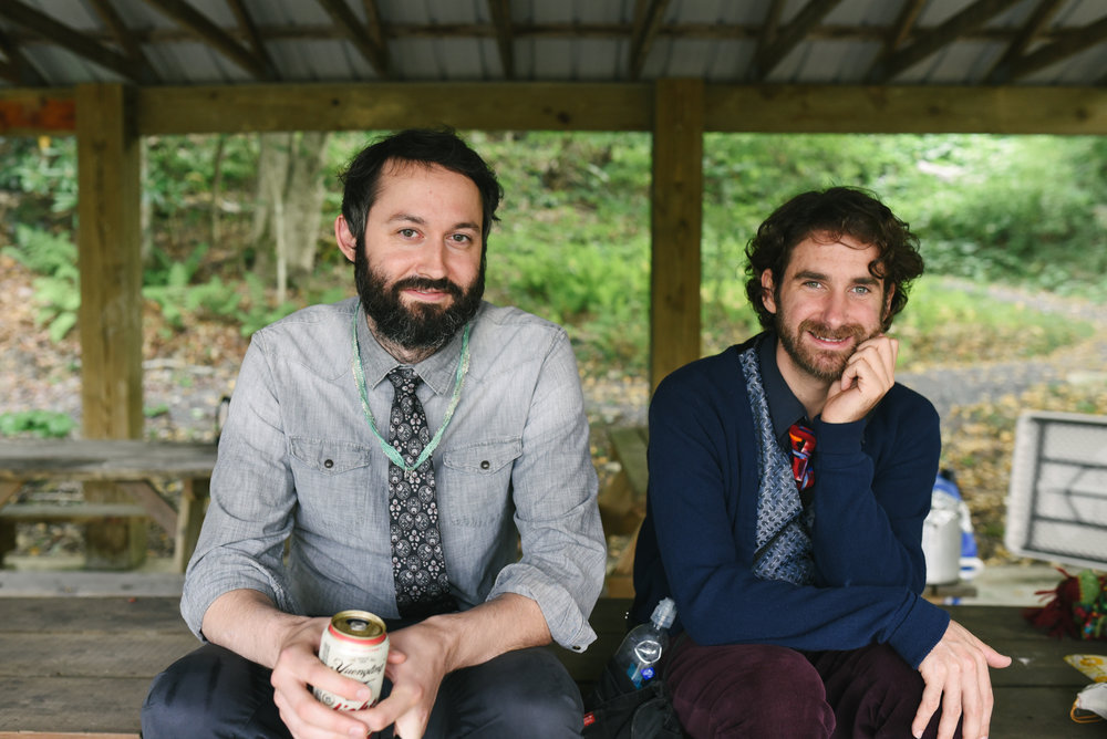 Mountain Wedding, Outdoors, Rustic, West Virginia, Maryland Wedding Photographer, DIY, Casual, Portrait of friends at reception