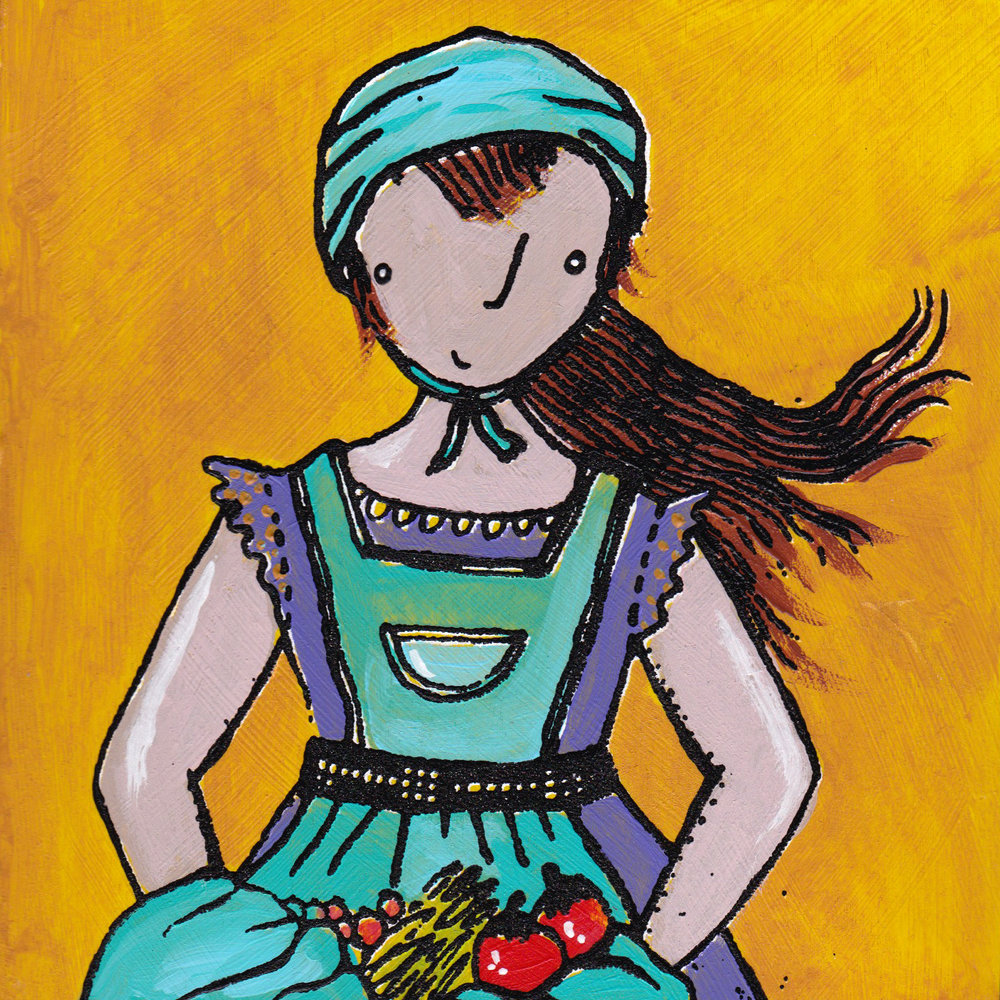 yellow apron girl screenprint.jpg