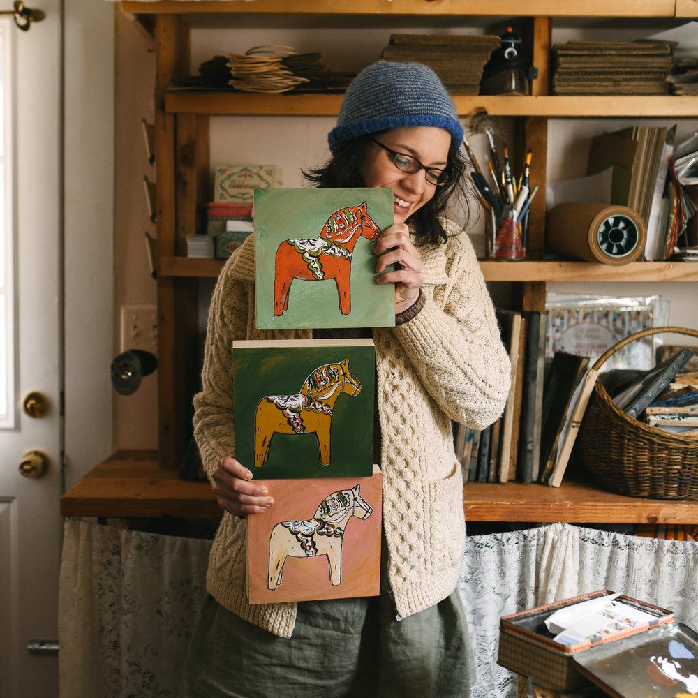 dala horse painting.JPG
