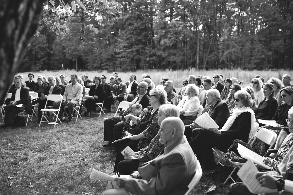 Vintage, DIY, Rustic, Germantown, Baltimore Wedding Photographer, Alternative, Casual, Outdoor Wedding, Church Wedding, Whimsical, Campground, Wedding Guests, Black and White Photo
