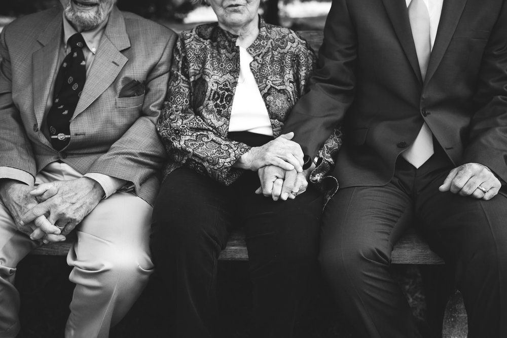 Vintage, DIY, Rustic, Germantown, Baltimore Wedding Photographer, Alternative, Casual, Outdoor Wedding, Church Wedding, Whimsical, Wedding Detail, Black and White Photo, Family Wedding Portrait