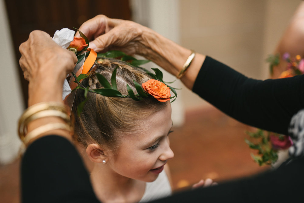 Alexandria, Fall Wedding, Historic, The Enchanted Florist, Wedding Party, Flower Girls, Flower Crown, Getting Ready