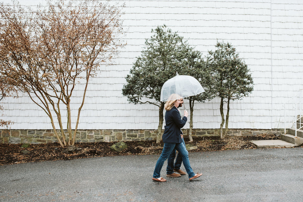 Engagement Photos, Rainy, Ellicott City, Maryland Wedding Photographer, Winter, Overhills Mansion, Indian American, Historical, Classic, Traditional, Outdoor, Bride and Groom Walking