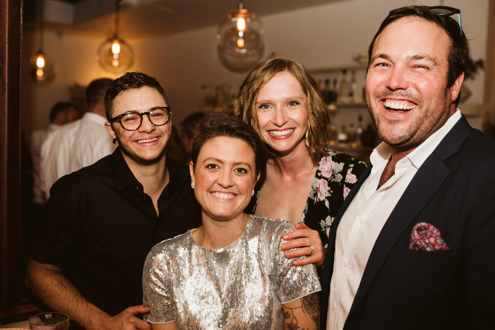 Outdoor Wedding, Casual, Simple, Baltimore, Maryland Wedding Photographer, Laid Back, September Wedding, Portrait of Guests at Reception, Clavel