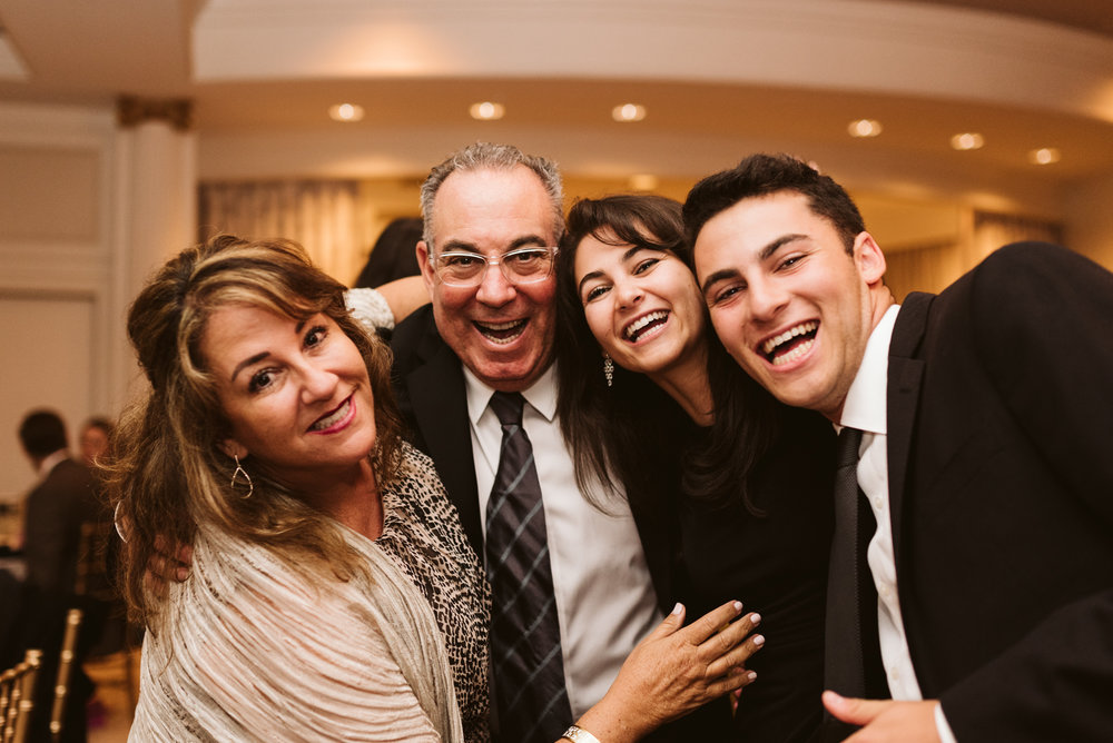 Elegant, Columbia Country Club, Chevy Chase Maryland, Baltimore Wedding Photographer, Classic, Traditional, Family Photo at Wedding Reception, Dance Floor