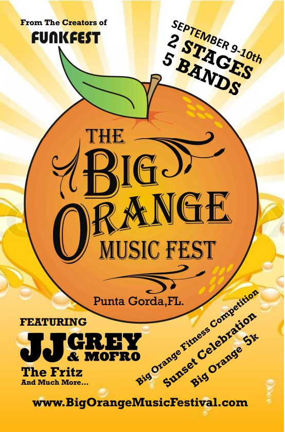 Big Orange MusicFestival - Punta Gorda