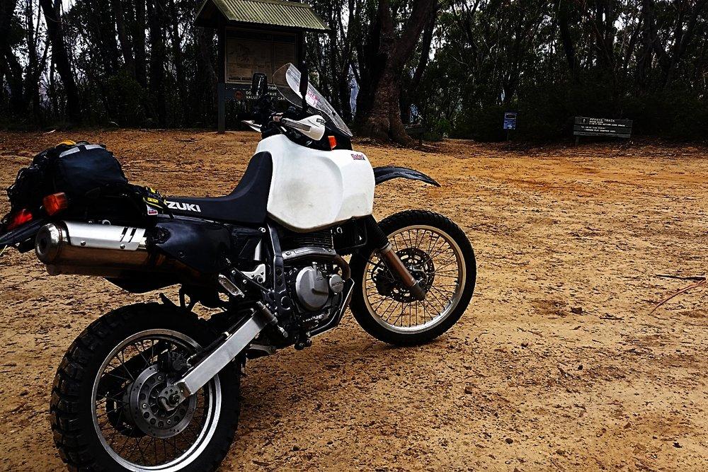 The perfect bush touring bike.