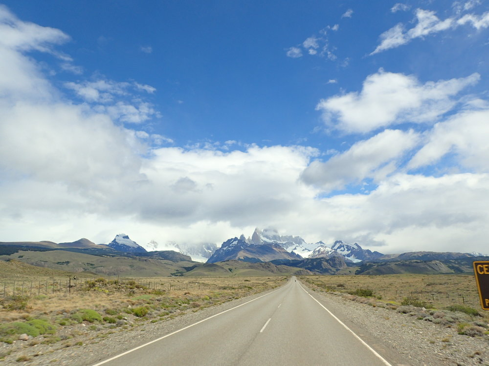 The breathtaking Los Glaciares National Park