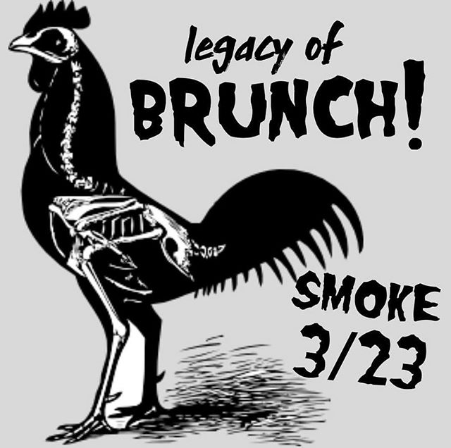 tomorrow S M O K E presents: ⚡️ LEGACY OF BRUNCH ⚡️ an @officialmisfits themed #brunch located at smoke, in cockeysville 💀⚰️ from 11 until 3. Guaranteed to sell out - don't miss this killer 😎 brunch!  try the HASH breeders, the last caress, or the devil lock french toast to name a few. @misterjoshwhite is killing it with this spring brunch menu. don't die ⚰️ from #FOMO 💀 ____________ RSVP 📲 via link 🔗 in bio today! don't miss out on a day full of (okay like two hours worth of) @officialmisfits tunes 🎶 BYO bloody mary + mimosa bar 🥂 + more!