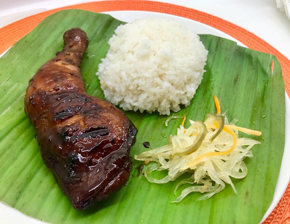 Filipino_Grilled Chicken (Inasal) Platter w Leche Flan.jpg