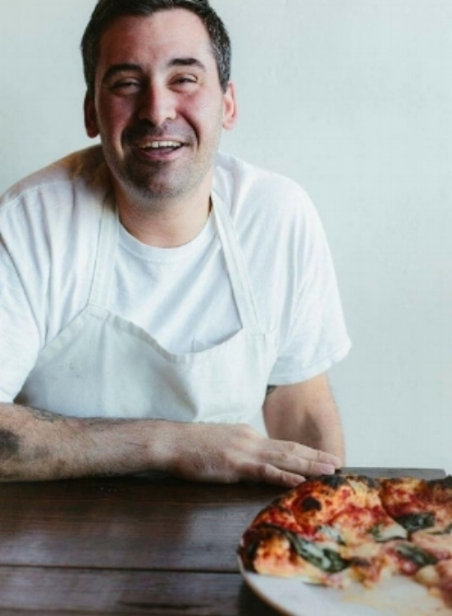 Manny Augello - chef . owner