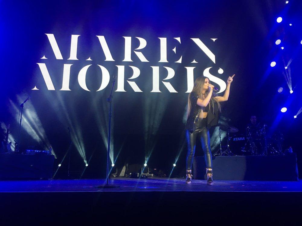 Maren Morris al Country 2 Country di Dublino