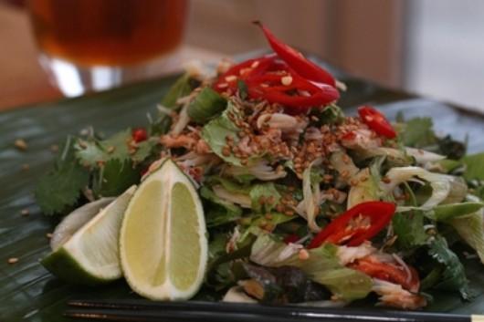 Thai-style crab salad