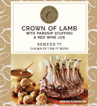 Christmas lamb crown.JPG
