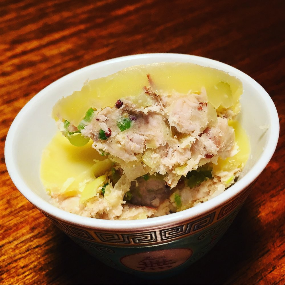 chicken rillettes
