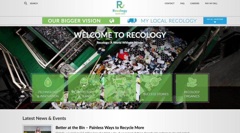 Recology  Website