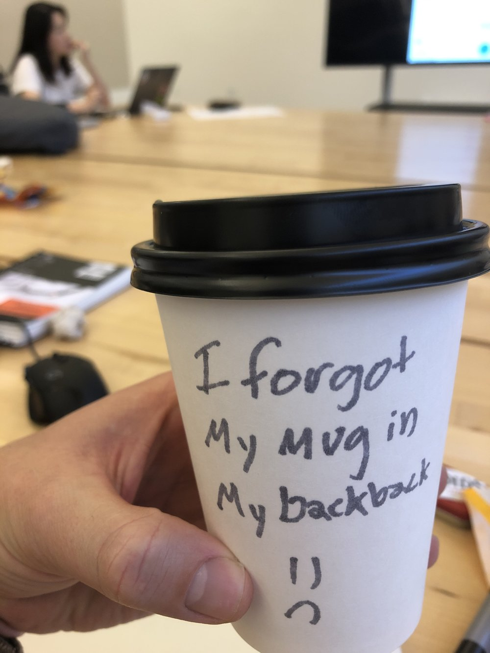 Challenging participants to use reusable cups instead of disposable ones for a week