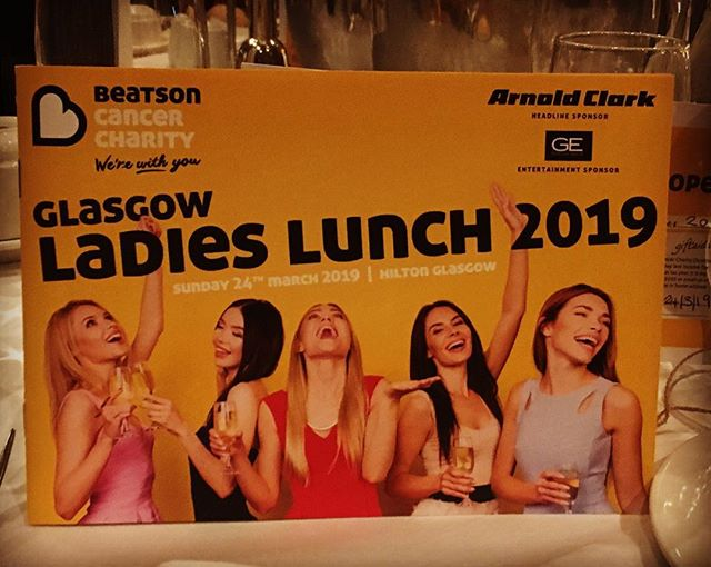 Team BB are absolutely delighted 😍😍 to be out supporting the wonderful work of the @beatsoncharity at today's #ladieslunch #beatsonladies