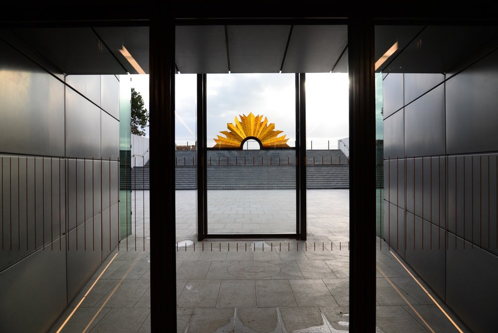 The Rising Sun viewed from inside the Centre Image: Tim Williams