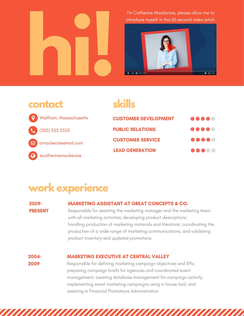 Real Estate Resume   Writing Guide   Resume Genius Resume Building Infographic that will help you think through the process of  putting together a resume from scratch   For U S  companies   Find a way to  add
